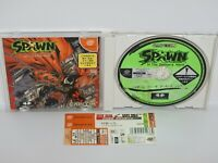 Dreamcast SPAWN In The Demon's Hand with SPINE * Sega Japan Game dc