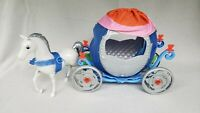 Mattel 2011 Disney Princess Cinderella Pumpkin Transforming Carriage & Horse Set