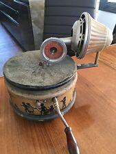 Nifty Nirona Tin Toy Gramophone