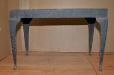 All steel machinery stand industrial blacksmith knife maker repurpose table tool