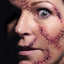 5× Temporäre Tattoo Sticker Narbe Muster wasserdicht DIY Tattooing Papier Body