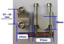 "CNC 30mm BAR RAISERS RISERS FOR 28mm FAT HANDLE BARS 1 1/8""  KTM 990 EXC 250 450"