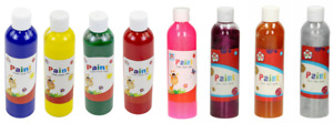 kids create paint of Assorted Colours/glitter Paint - 250ml Tubes