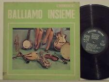 BALLIAMO INSIEME disco LP 33 giri MADE in ITALY verde BCLP 1006 PINO PIACENTINO
