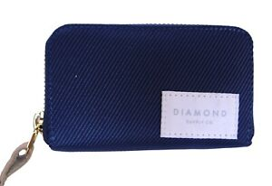 New Diamond Supply Co. Cruise Zip Navy Mens Wallet RBCK-48