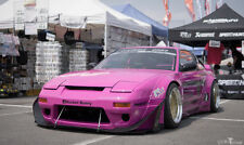 NISSAN 200SX 180SX S 13 ROCKET BUNNY V2 / FENDER FLARES + SIDE SKIRTS / arches