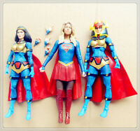 "lot of 3 DC Universe Classics Big Barda SUPERGIRL Action Figure 6"" old #as2"