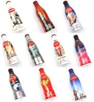 Coca-Cola Coke Aleación de Aluminio Botellas Aluflaschen 100 Años Konturflaschen