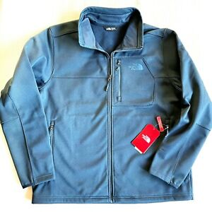 The North Face Apex Risor Men's Size XL Softshell Jacket - Urban Navy Blue $149