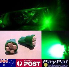 Green LED T10 Parker Bulbs - Holden Commodore VL VN VP VR VS VT VX VY VZ VE