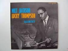 """MILT JACKSON LUCKY THOMPSON QUINTETO SAVOY MUSIDISC FRANCE 12"""" LP (L2633)"""