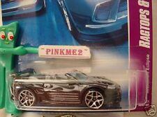 2007 Hot Wheels MITSUBISHI ECLIPSE #84 nc∞met black; y5 ∞Ragtops to Roadsters