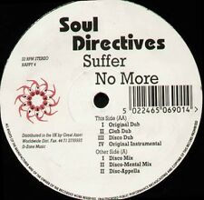 SOUL DIRECTIVES - suffer no more - Happy Music - Happy 4 - Uk