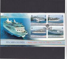 Pitcairn Islands 2013 Mint Cruise Ships FDC