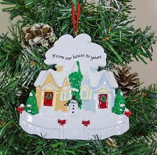 Personalised Christmas Tree Ornament Decoration - Best Neighbours