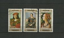 YEMEN  1967 AIRMAIL FLORENTINE MASTER PAINTINGS  Cancelled to order CTO MNH