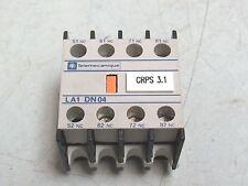 Telemecanique, LA1 DN04, Schneider Contact Block 30 Day Warranty FREE SHIP