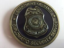 US Department of State/Diplomatic Security Service Challenge Coin