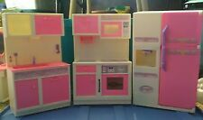 Barbie or same size dolls kitchen furniture