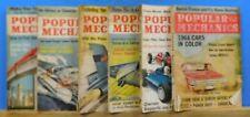 Popular Mechanics Magazine Lot of (6) Issues 1963