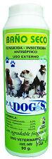 Talco Baño Seco PA Dog's 90 gramos (3 unidades de 90 gramos)