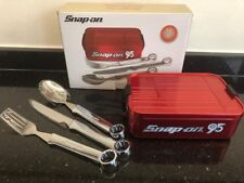 Snap On Tools Lunch Box With Cutlery...New In The Box
