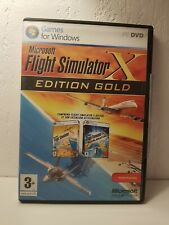 Flight Simulator X Gold Edition acceleration PC + extension Professionnelle A