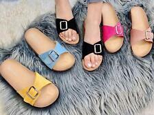 Sandali estivi donna ciabatte con plantare anatomico in sughero scarpe mare Bel