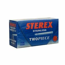 Sterex Stainless Needles Two Piece F2S Short (50)