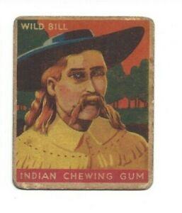 1933 Goudey - Indian Chewing Gum - Wild Bill Hickok (#59)