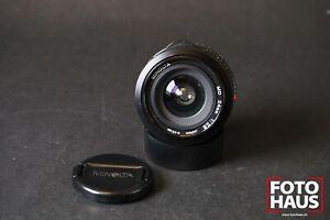 *READ* Minolta MD 24mm f/2,8 MC adaptable x500 x700 x300 SRT