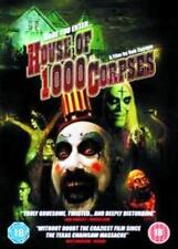 HOUSE OF 1000 CORPSES Rob Zombie*Sid Haig*Sheri Moon Cult Horror DVD *EXC*