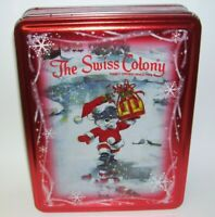 Swiss Colony Christmas Tin Box