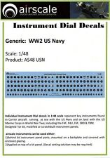 Airscale 1/48 WWII USAAF Instrument Dials (Decal) 4807 n