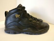 Nike Air Jordan 10 Retro BG UK 4 Black Dark Grey Metallic Gold 310806012
