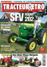 Tracteur Rétro n°11, SFV Super 202, Bernard Moteurs