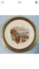 Beavers Woodland Wildlife Lenox Decorative Collector Plate Limited Edition 1977