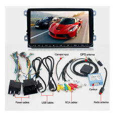 9'' 2Din 1080P Android 8.1 Quad Core Car Stereo Radio MP5 Player GPS Wifi 3G 4G