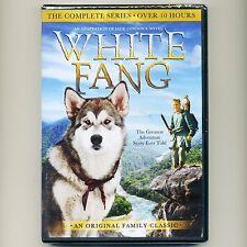White Fang complete 1993 TV series, new DVD set, J Woolvett K Blackburn wolf dog