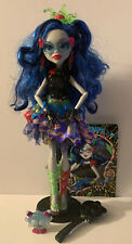 Monster High GHOULIA YELPS Sweet Screams Doll Pet Purse Diary Shoes Outfit Belt