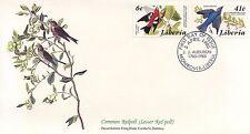 ENVELOPPE / BIRDS OF THE WORLD /  / FAUNE /  OISEAU / LIBERIA / 1985