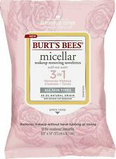 NEW Burt's Bees Micellar Cleansing Towelettes With Rose Water, 30 Count