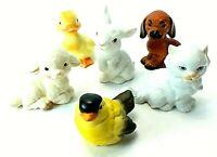 Vintage GOEBEL Porcelain Animal ANNUAL FIGURINES 1984 1985 1986 1988 1989 1990