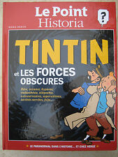 Hors Serie Le Point-Historia Herge + Collectif Tintin Et Les Forces Obscures