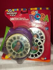 NEW NICK JR. Fisher Price DORA THE EXPLORER 3D VIEW-MASTER REELS And VIEWER 2002