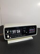 Vintage Flip Clock 1970's Toshiba Retro Rare Bedroom! RC-681F