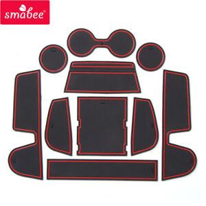 Anti-Slip Gate Slot Cup Mat for MAZDA CX-30 2019 2020 CX30 CX 30 Accessories Car