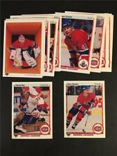 1990/91 Upper Deck Montreal Canadiens Team Set 25 Cards