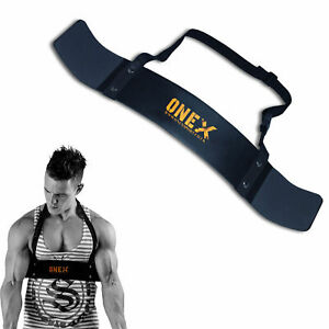 Arm-Bicep Isolator Blaster Barbell Bar Weight Lifting Training Bomber Curl
