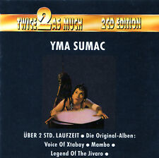 Yma Sumac Twice as Much Rare Import Two Compact Disc Set